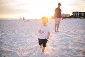 beach, child, kid