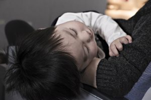toddler, boy, sleeping